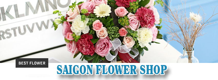 Flower shop in Saigon